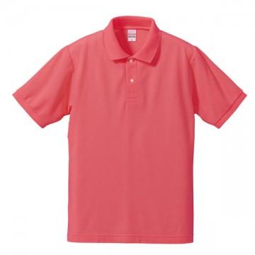 ドライカノコポロシャツ195.フラミンゴピンク