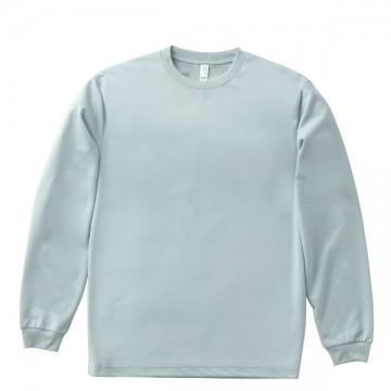 ドライロングスリーブTシャツ2.グレー