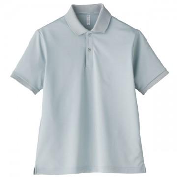 【SALE】ベーシックドライポロシャツ2.グレー
