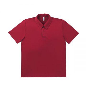 ドライポロシャツ 23.バーガンディ