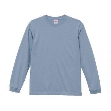 ロングスリーブTシャツ(袖口リブ仕様)247.アシッドブルー