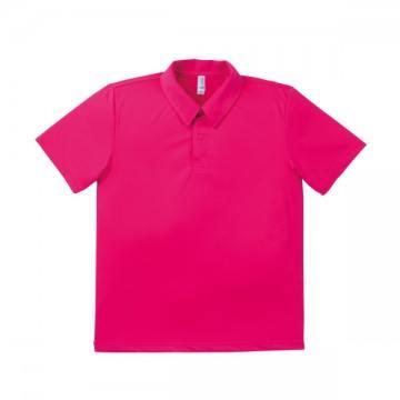 ドライポロシャツ 29.ショッキングピンク