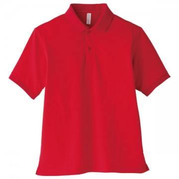 【SALE】ベーシックドライポロシャツ3.レッド