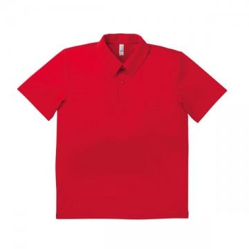 ドライポロシャツ 3.レッド