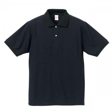 ドライカノコポロシャツ4002.ネイビー/ブラック