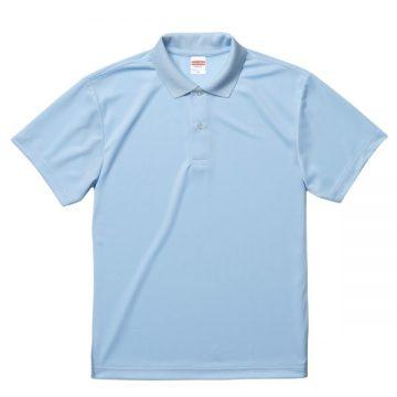 ドライアスレチックポロシャツ488.ライトブルー