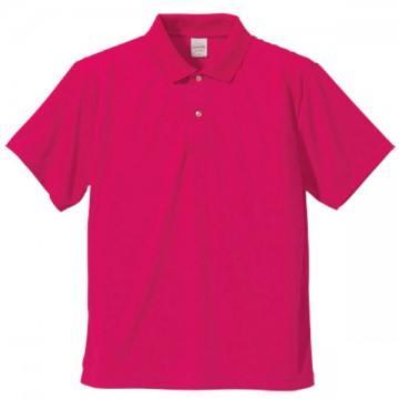 ドライアスレチックポロシャツ511.トロピカルピンク