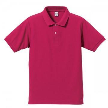 ドライカノコポロシャツ511.トロピカルピンク