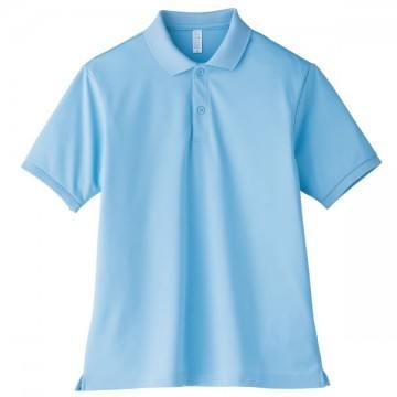 【SALE】ベーシックドライポロシャツ6.サックス