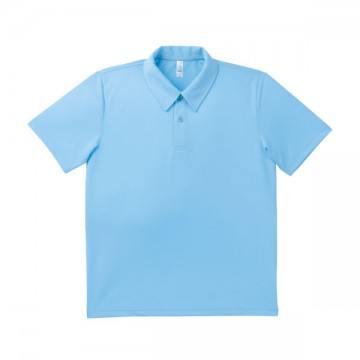 ドライポロシャツ 6.サックス