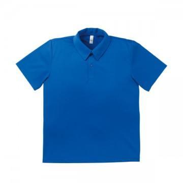 ドライポロシャツ 7.ロイヤルブルー
