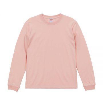 ロングスリーブTシャツ(袖口リブ仕様)742.オフピンク