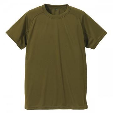 クールナイス半袖Tシャツ750.オリーブグリーン
