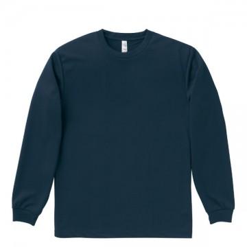 ドライロングスリーブTシャツ8.ネイビー