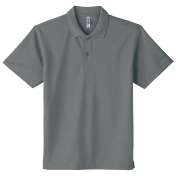ドライポロシャツ901.ミックスグレー