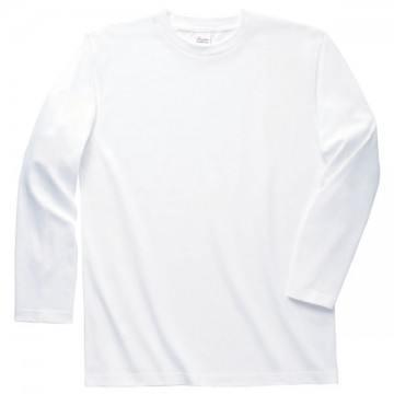 ロングスリーブTシャツ001.ホワイト