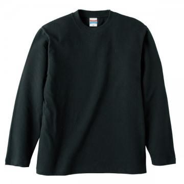 ロングスリーブTシャツ002.ブラック