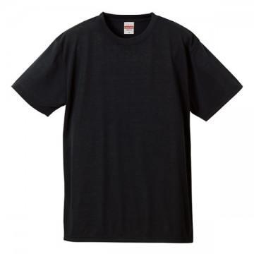 ドライコットンタッチTシャツ002.ブラック