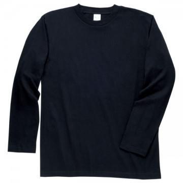ロングスリーブTシャツ005.ブラック