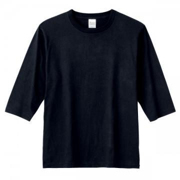 5分袖Tシャツ005.ブラック