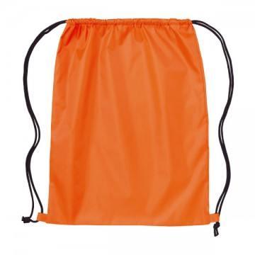 ナイロンランドリーバッグ015.オレンジ