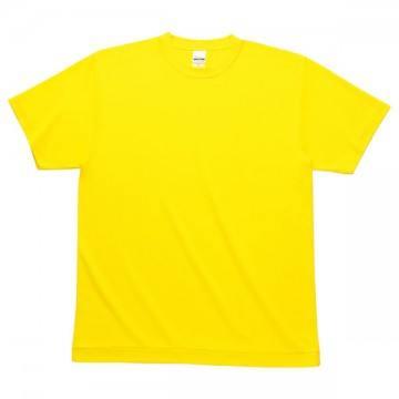 ハニカムメッシュTシャツ020.イエロー