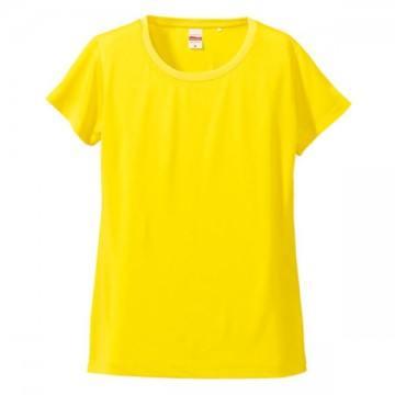 ドライシルキータッチTシャツ021.イエロー