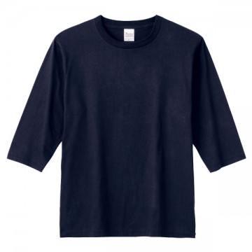 5分袖Tシャツ031.ネイビー