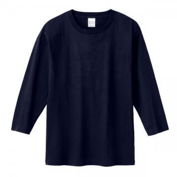 7分袖Tシャツ031.ネイビー