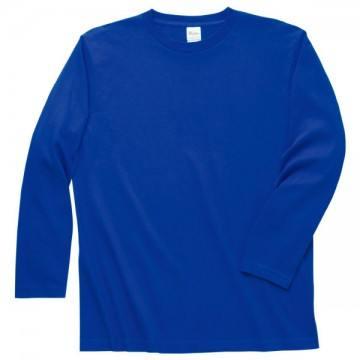 ロングスリーブTシャツ032.ロイヤルブルー