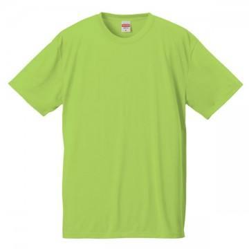 ドライコットンタッチTシャツ036.ライムグリーン