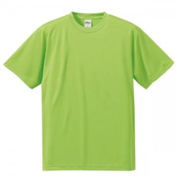 ドライシルキータッチTシャツ036.ライムグリーン