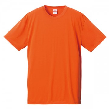 ドライコットンタッチTシャツ064.オレンジ