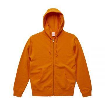 スウェットフルジップパーカー064.オレンジ