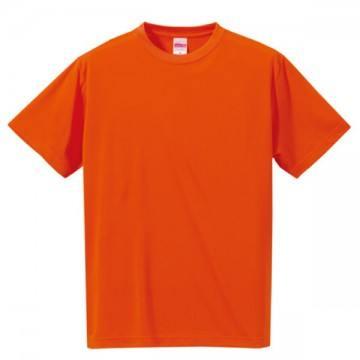 ドライシルキータッチTシャツ064.オレンジ