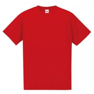 ドライシルキータッチTシャツ069.レッド
