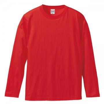 ロングスリーブTシャツ069.レッド