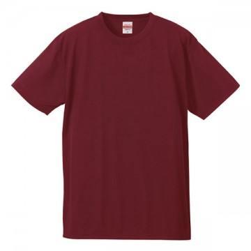 ドライコットンタッチTシャツ072.バーガンディ