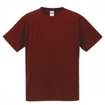 ドライシルキータッチTシャツ072.バーガンディ
