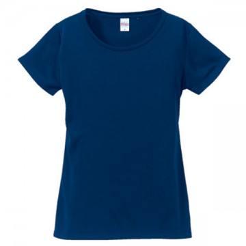 ドライシルキータッチTシャツ086.ネイビー