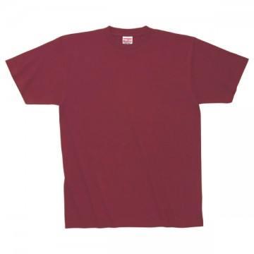 ハイグレードTシャツ112.バーガンディ
