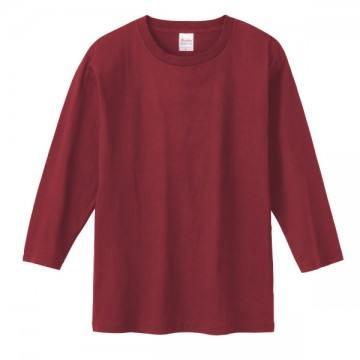 7分袖Tシャツ112.バーガンディ