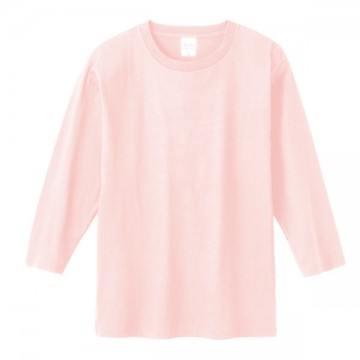 7分袖Tシャツ132.ライトピンク