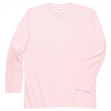 ロングスリーブTシャツ132.ライトピンク