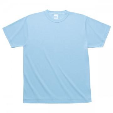 ハニカムメッシュTシャツ133.ライトブルー