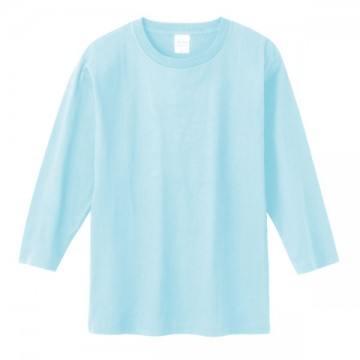 7分袖Tシャツ133.ライトブルー