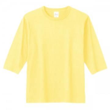 5分袖Tシャツ134.ライトイエロー