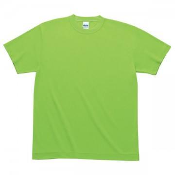 ハニカムメッシュTシャツ155.ライム
