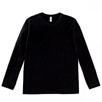 3.8オンス ユーロロングTシャツ16.ブラック