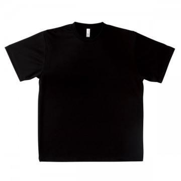 ドライTシャツ16.ブラック